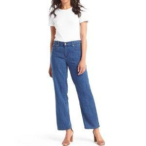 Like New GAP Wide Leg Crop Jeans